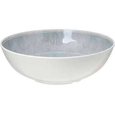 Carlisle Food Service Products Grove Melamine 5.2 qt. Serving Bowl (Set of 6) Color: Smoke