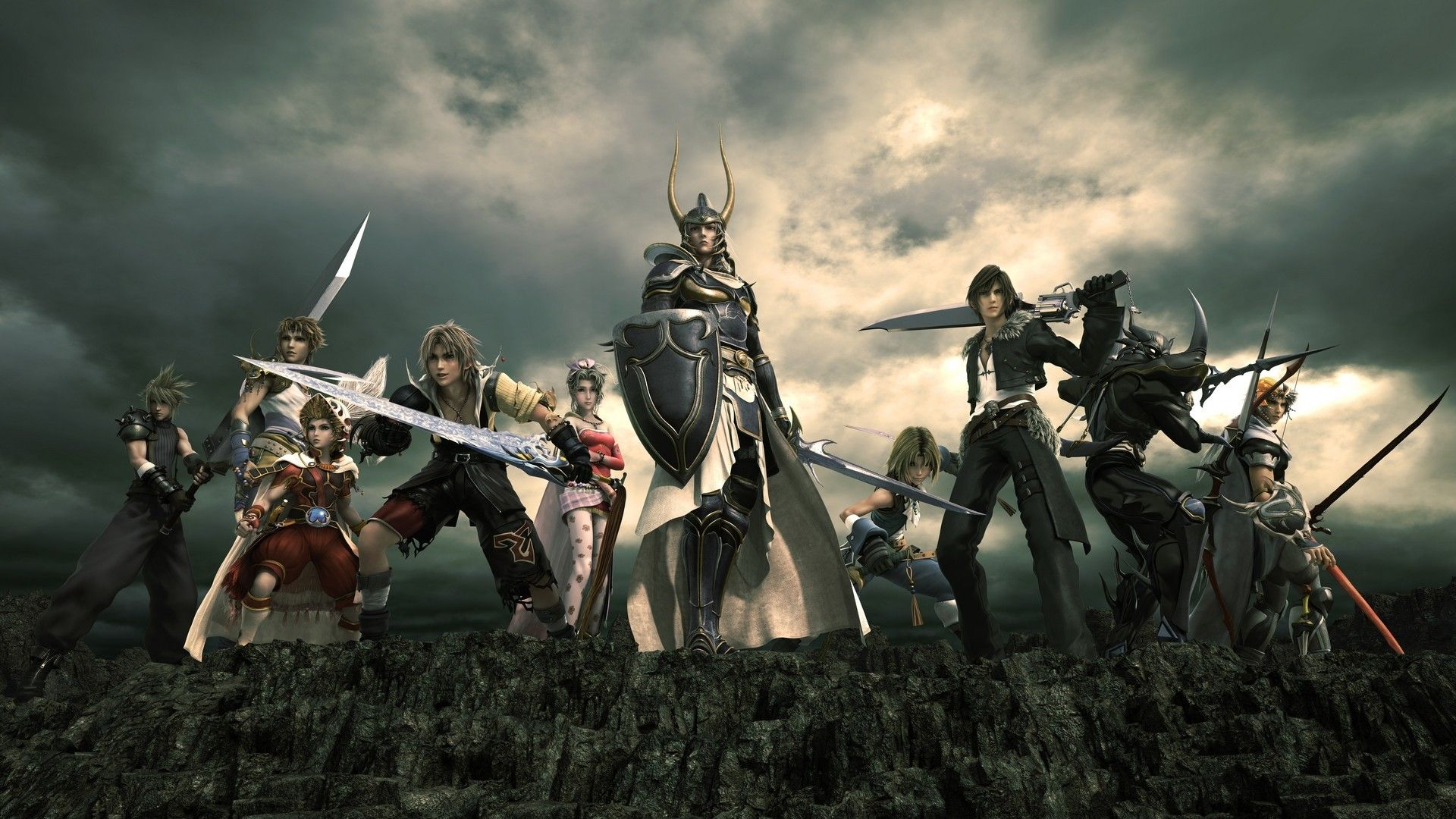 wallpaper final fantasy collection for free hd
