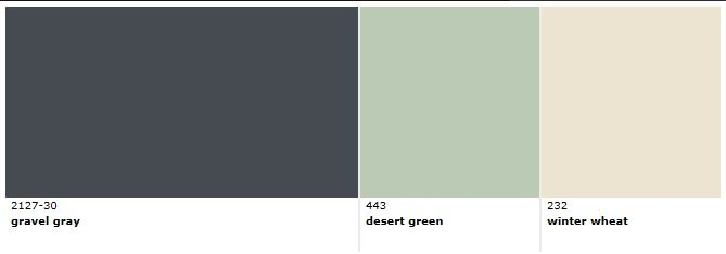 Winter Wheat Benjamin Moore Paint Color Palette Gravel