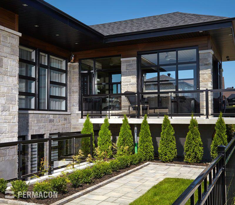 Grandiose fenestration sur une belle maison | Maison | Pinterest ...