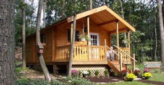 serenity log cabin kit starting at 21 000 cozy cabins log cabin rh pinterest com