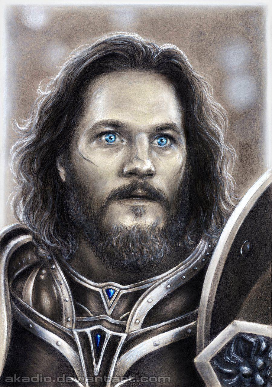 Travis Fimmel As Anduin Lothar Warcraft By Akadio On Deviantart Lothar Warcraft Warcraft Warcraft Movie