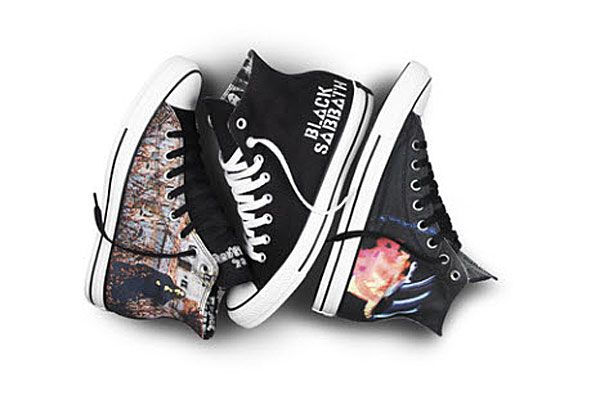 Led Zeppelin Custom Converse Painted Shoes | Painted shoes