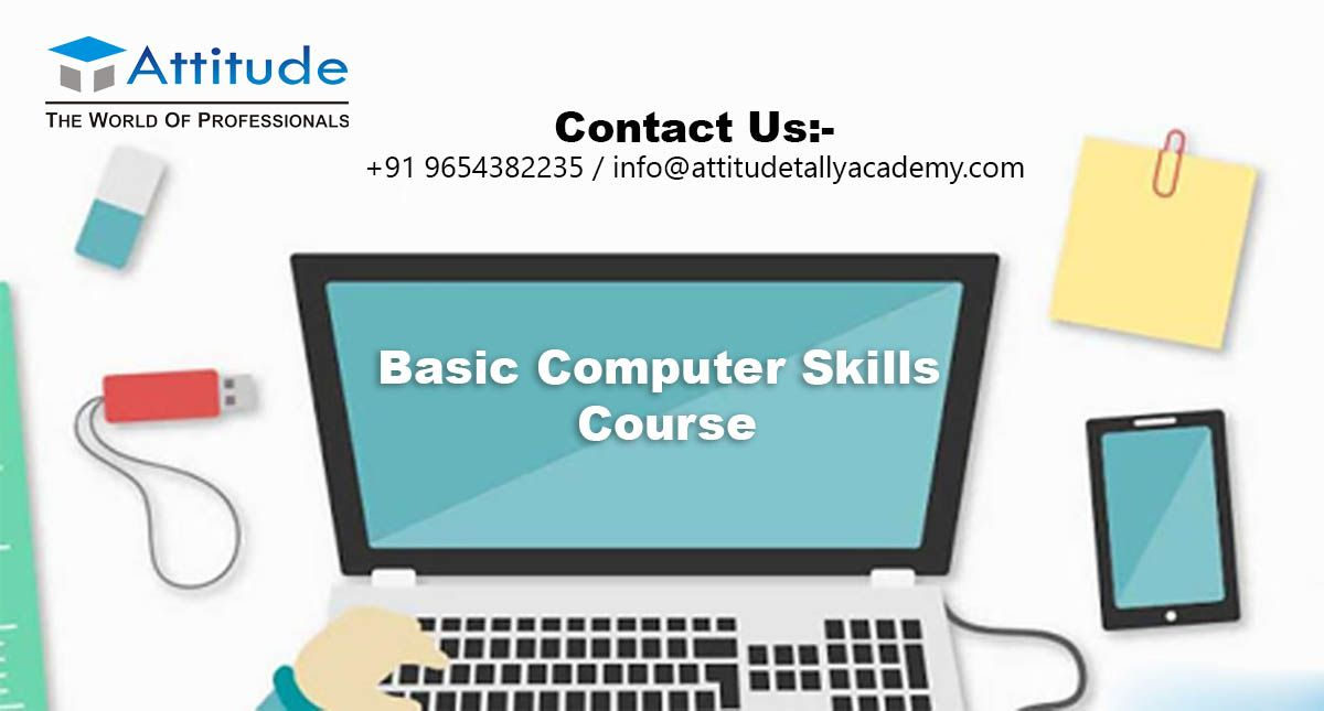 Basic Computer Skills Course And Why Is So Important Our Life Computer Skills Computer Skills