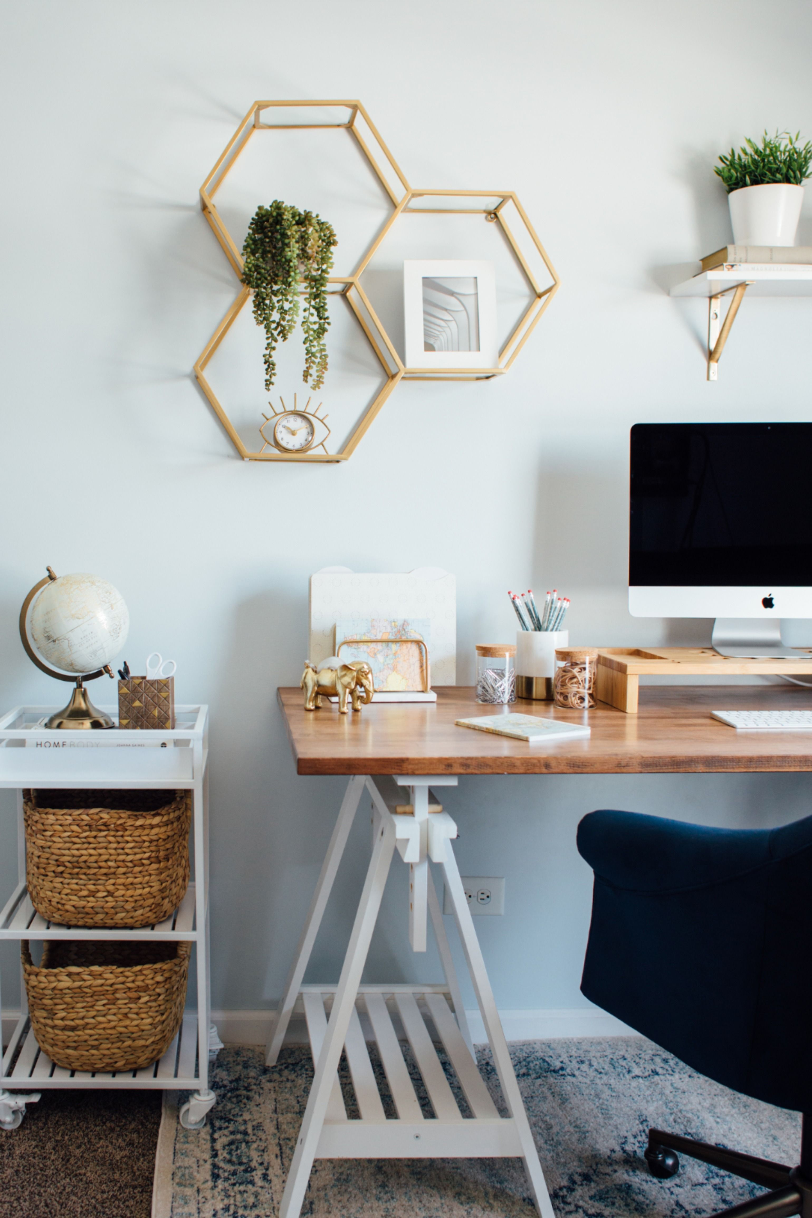 Spring Cleaning Office Orderhome Decorideas Tipsinspiration Cozy Home Office Home Office Design Home Office Space