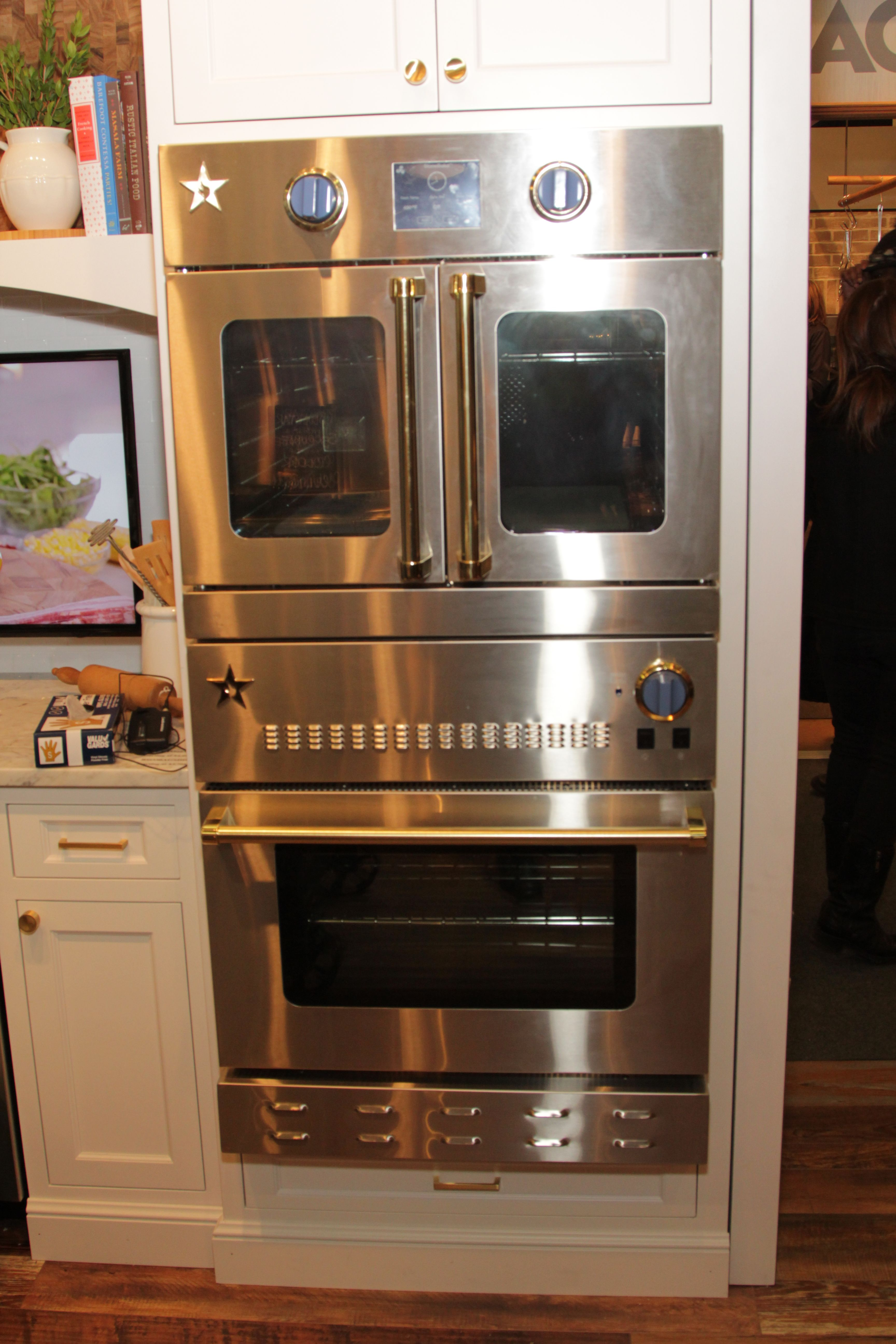 This Set Up Also Includes Two 30 Electric Wall Ovens