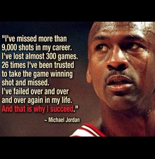 Inspirational Quotes About Failure In Sports: Pay Your Dues, Put In Your Time, And Keep Takin Shots