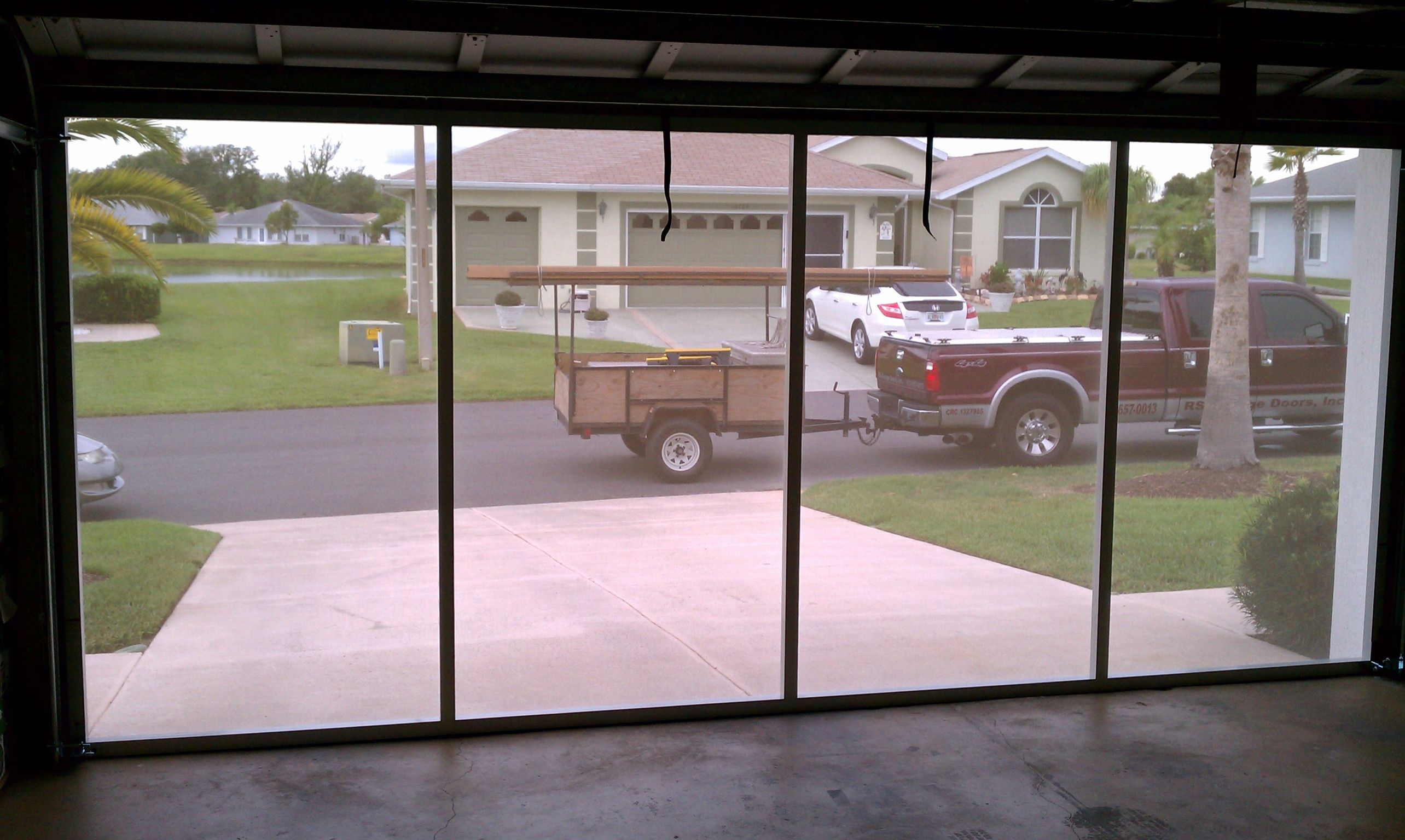 Looking Out Through White Privacy Screen Diy Home Pinterest