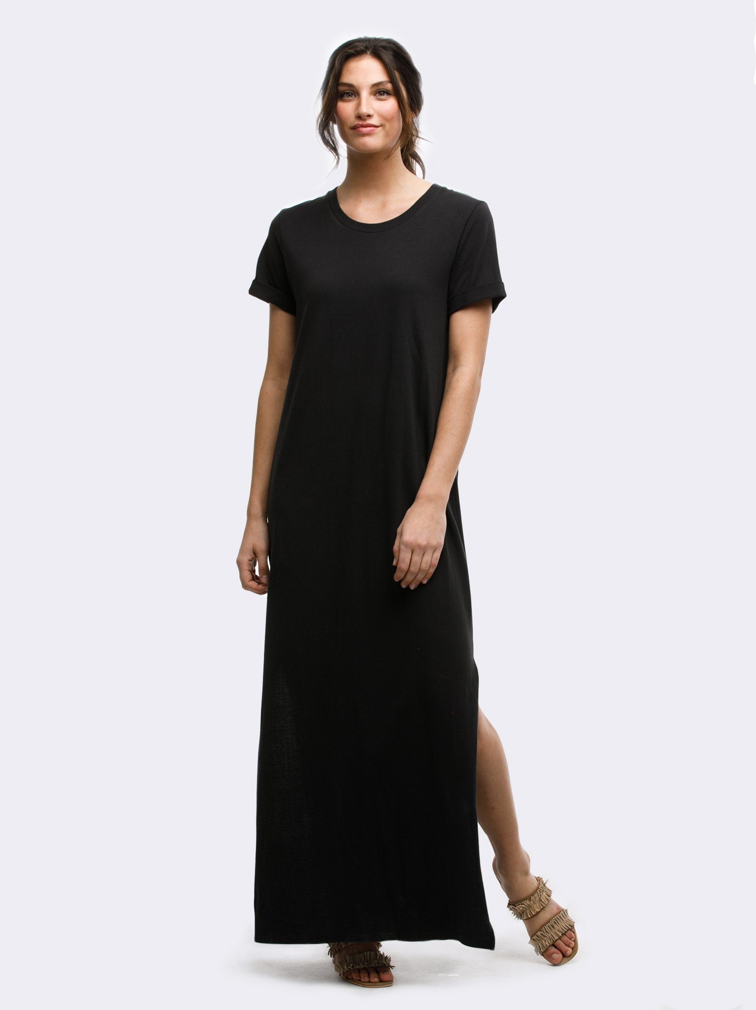 Susano Maxi T Shirt Dress Jumpsuit Dress Shirt Dress Cotton Knit Dresses [ 2048 x 1532 Pixel ]