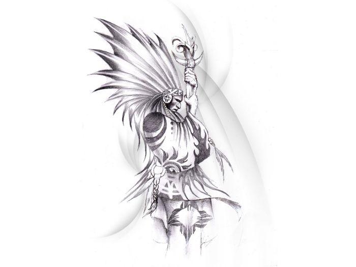 Notitle Indianer Tattoo Tattoo Indianer Girl 10
