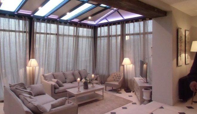 le salon veranda rideau veranda