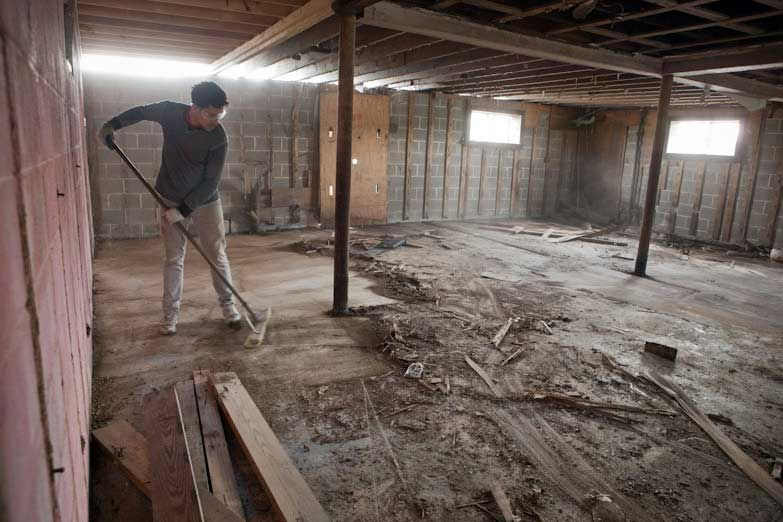 Home cleaning service best flooring for basement