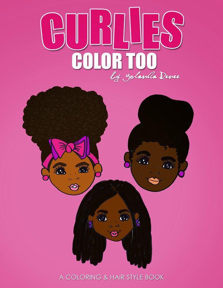 Natural Hair Coloring Book | Fab Natural Hair | Pinterest ...