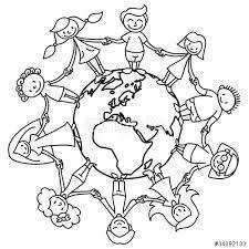 Kinder Weltkugel Malvorlage Google Suche Kinder Kinder Dieser