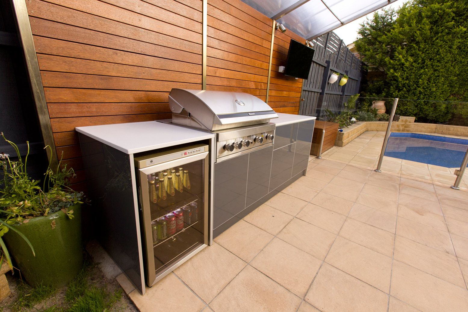 outdoor kitchens bbq amp built melbourne area design ideas for ...