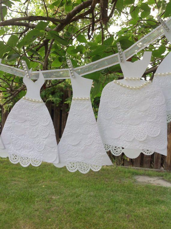 Vestidos de papel boda vestido Garland  despedida de soltera