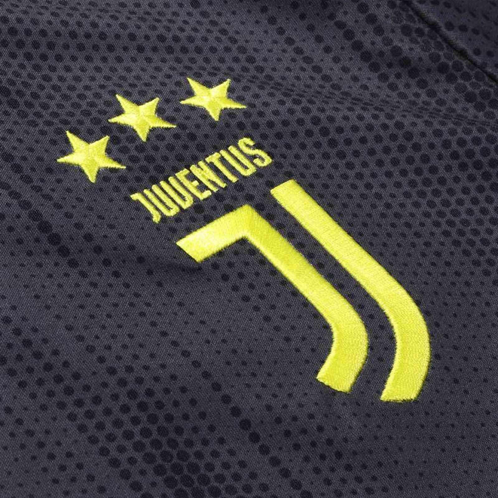 7c117bc9052 18-19 Juventus Third Away Black Soccer Jersey Shirt