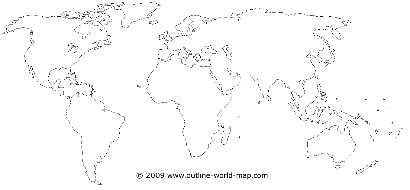 Blank world map with thin borders white land and water areas b3a blank world map with thin borders white land and water areas b3a gumiabroncs Image collections