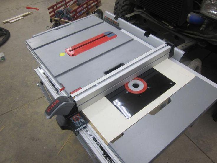 Resultat De Recherche D Images Pour Gts Bosch 10 Xc With Home Made Router Table Bosch Tischkreissage Tischsage Diy Tischkreissage