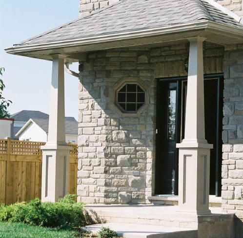 Post wraps pvc wraps home faq photo gallery for Craftsman columns