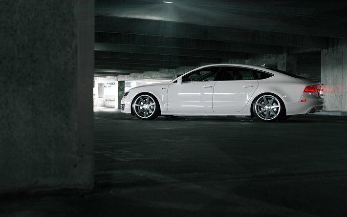 Telecharger Fonds D Ecran Audi A7 Sportback Vossen Tuning Blanc A7 Audi Besthqwallpapers Com Audi A7 Audi A7 Sportback Audi