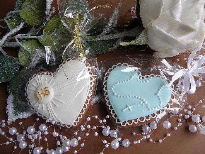 Podziekowania Komunia Duze Pierniki Aniolki 6121779592 Oficjalne Archiwum Allegro Childrens Party Cookie Decorating Communion