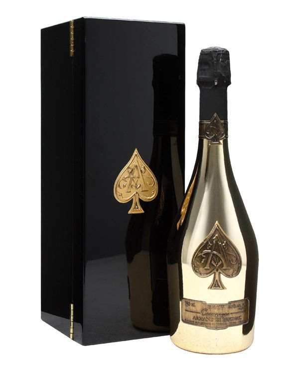 Armand De Brignac Brut Gold The Drinks Concierge Gold Bottles Armand De Brignac Spade Champagne