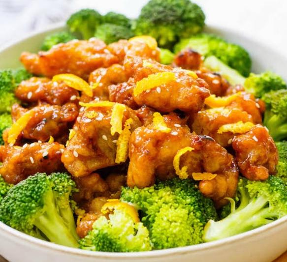 Easy Whole30 Chinese Orange Chicken: Paleo, Gluten-Free ,  #EasyWhole30ChineseOrangeChicken:P... #chineseorangechicken