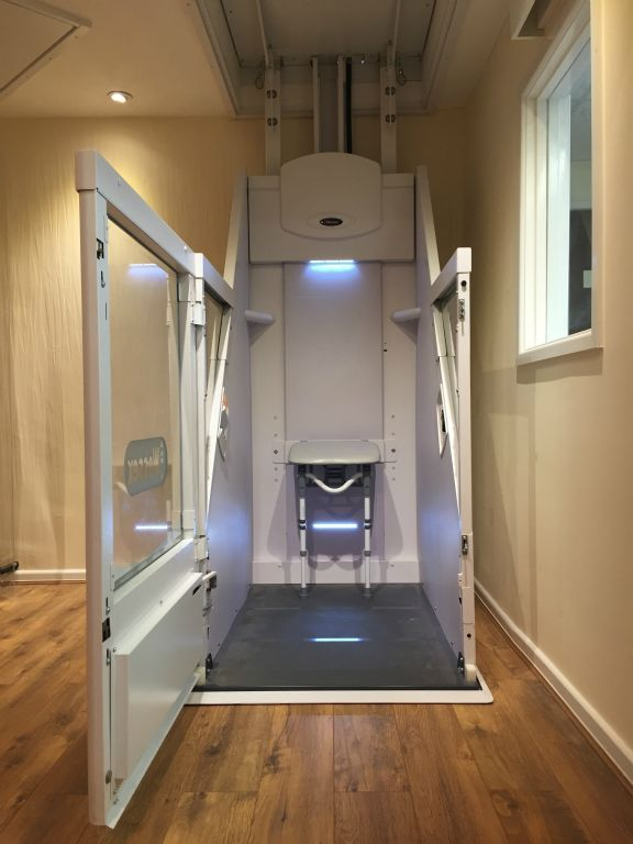 Wessex Vm Home Lift Supplied In The U K By Dolphin Mobility Call
