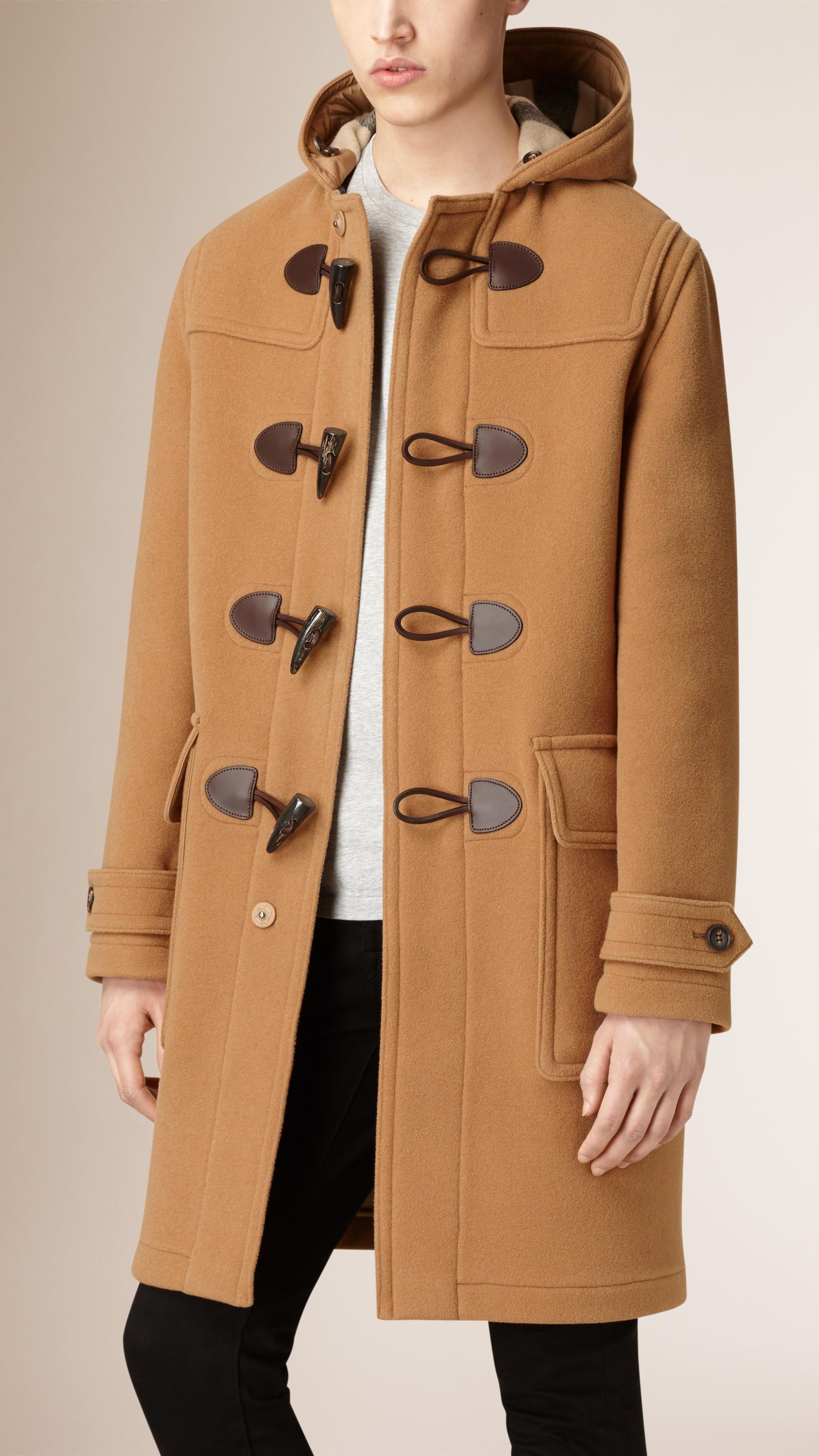 a3d7b14b1b60 Manteaux pour homme   Burberry   Men Jackets   Coat, Duffle coat ...