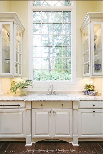 Madison Square Maple (style) , Creme Mocha (color) Kitchen ...