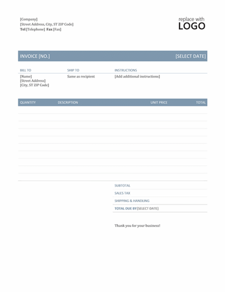 How To Make A Invoice On Word Invoice Timeless Design  Make To Invoice  Pinterest  Timeless .