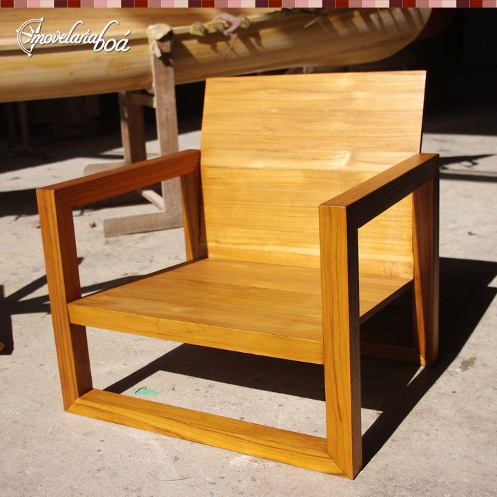 Projeto especial poltrona para rea externa produzida em for Mobilia outdoor furniture