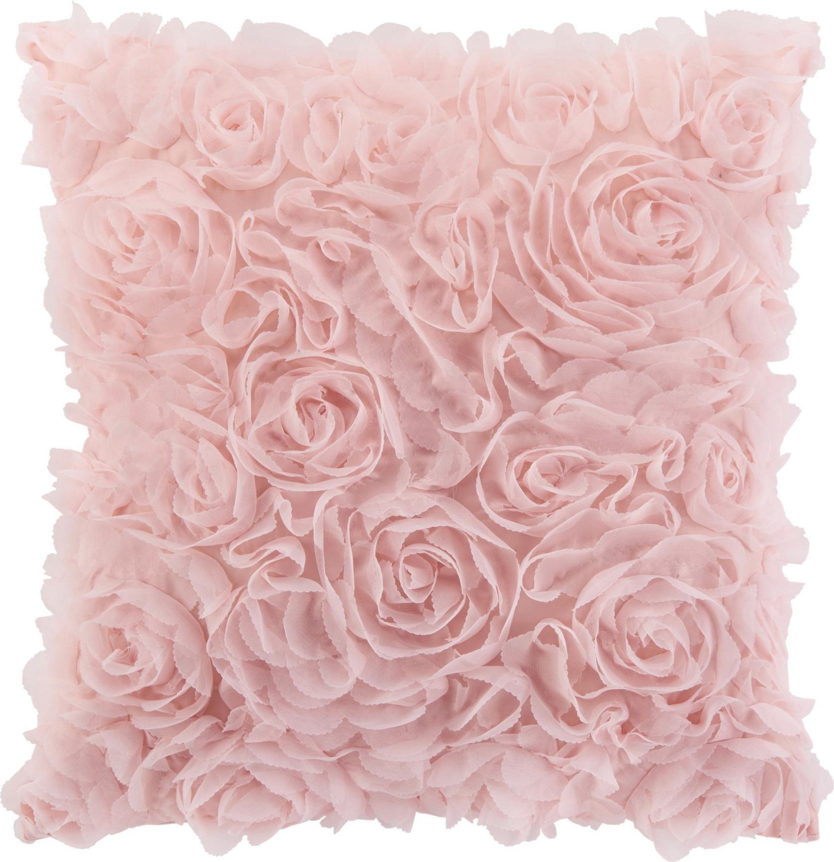 Zierkissen Rosalinde In Rosa Ca 40x40cm Zierkissen Kissen Und