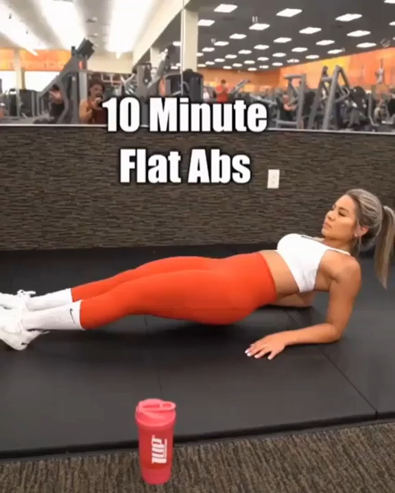 Photo of 10 mins flat Abs workout for women everyday, reduce belly fat and get in shape #absworkout #abs #gym