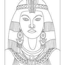 Coloring Page Cleopatra Mystery of History Lesson 98 #