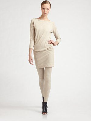 cashmere, boat neck - snug at the hip - very cute! $537.00
