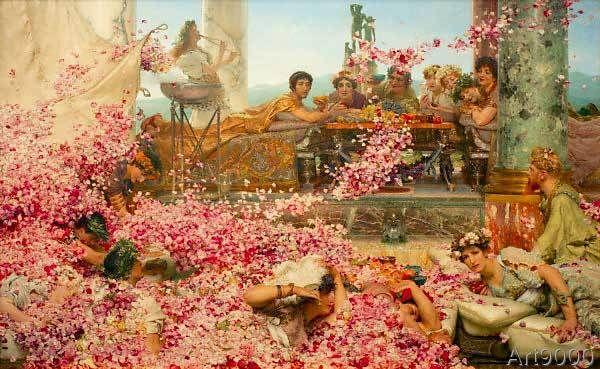 Sir Lawrence Alma-Tadema - The roses of Heliogabalus