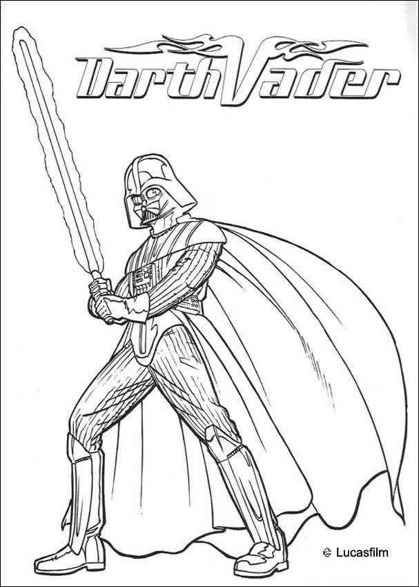 Darth Vader (6) Ausmalbilder Star wars ausmalbilder