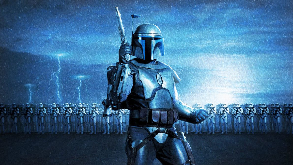 Jango Fett and the Clone Army (redone 1920x1080) by