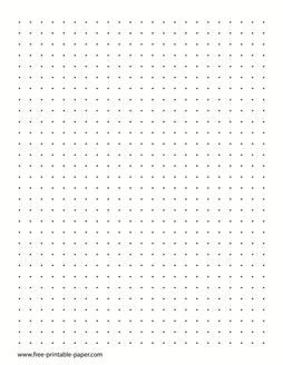 A Printable Dot Journal Paper With Three Dots Per Inch The Dot Grid Journal Paper Can Be Used For Isometric Dr Printable Graph Paper Dots Game Isometric Paper