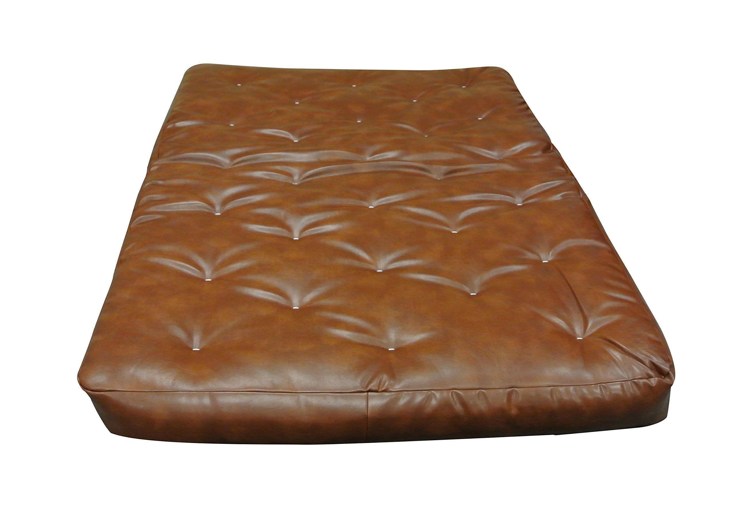 gold bond 0628p00130 9 viscocoil ii futon mattress saddle leather