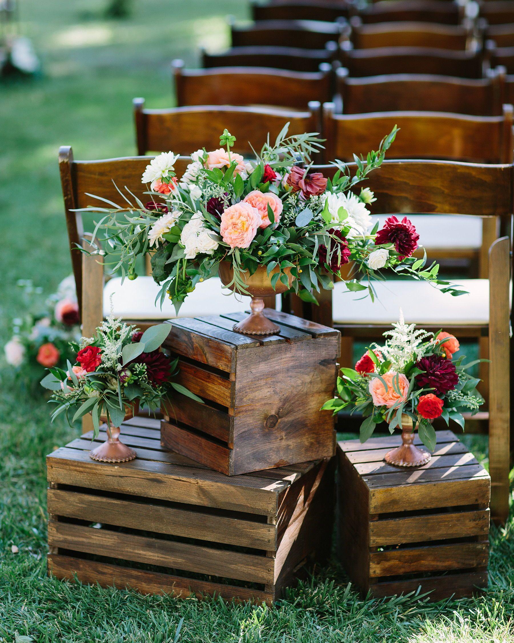 Rustic Wedding Altar Ideas: 35 Altar And Aisle Decorations We Love