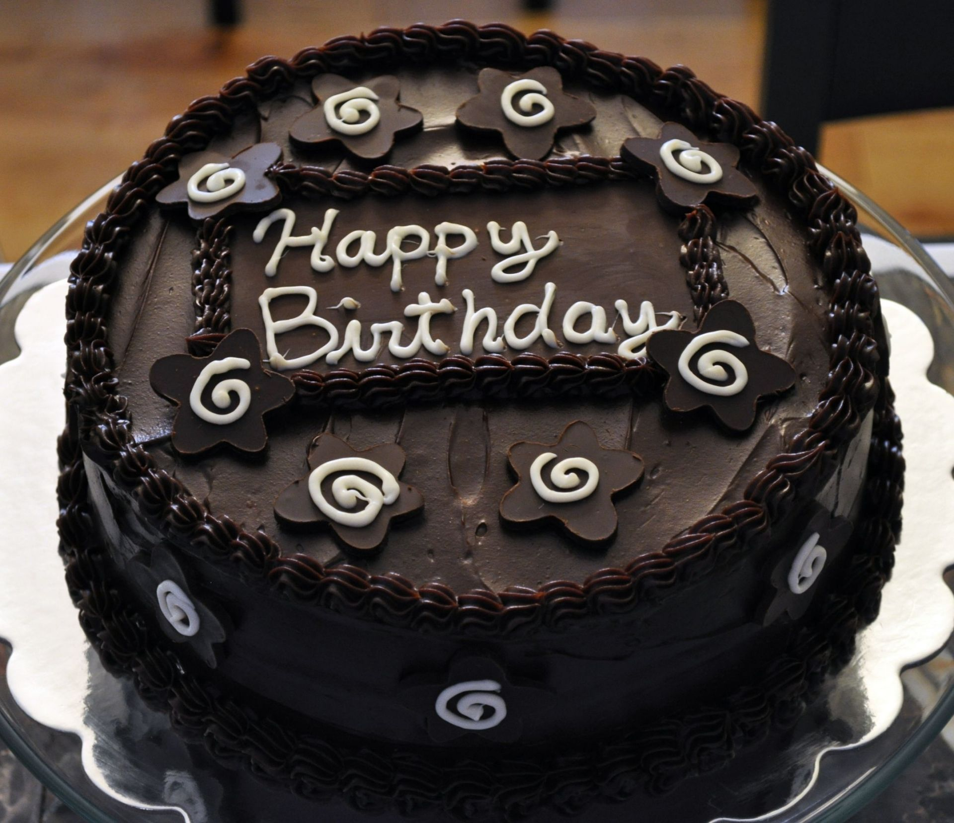 Happy Birthday Chocolate Cake Images HD Wallpapers 1080p
