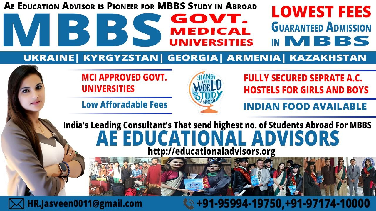 Study in Abroad MBBS, MBA, BBA, MD In Abroad in 2020