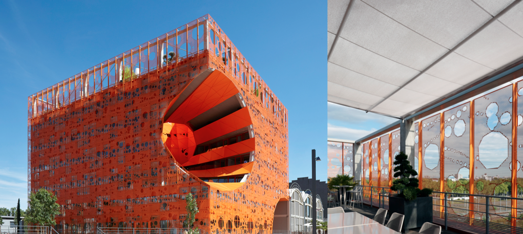 """Offices building """"Le Cube Orange"""" - Lyon, France 