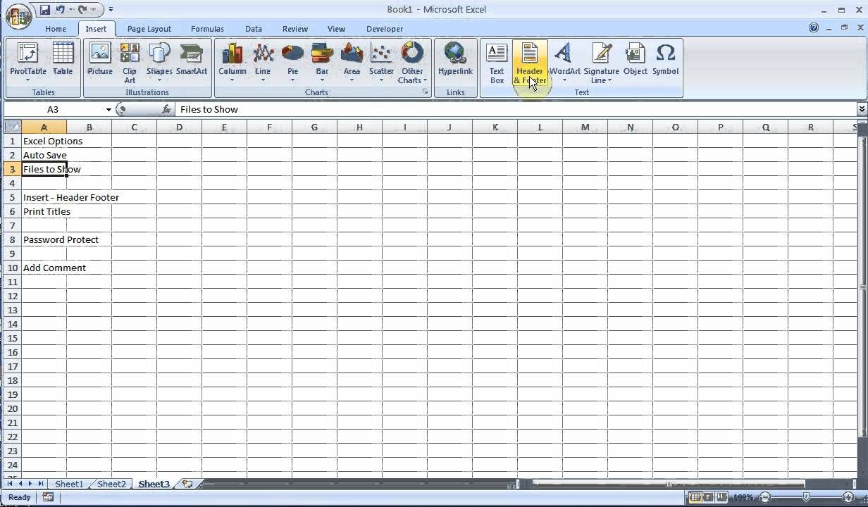 Exam Prep Microsoft Excel 2007/2010 pt 2 (With images