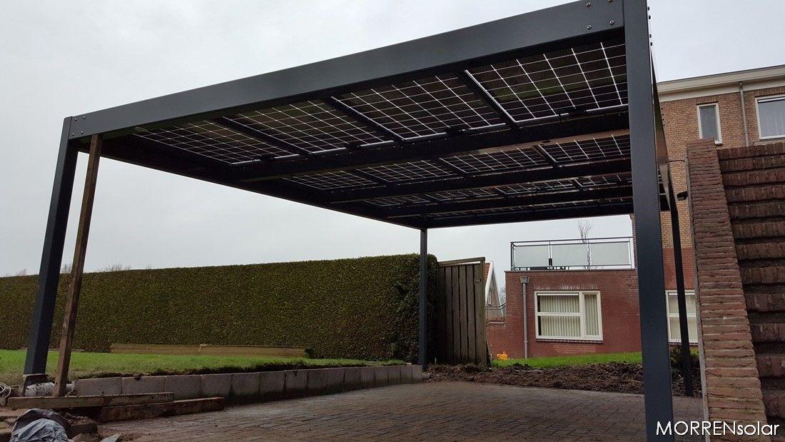 solar carport met zonnepanelen Vroomshoop | Solar carport ...