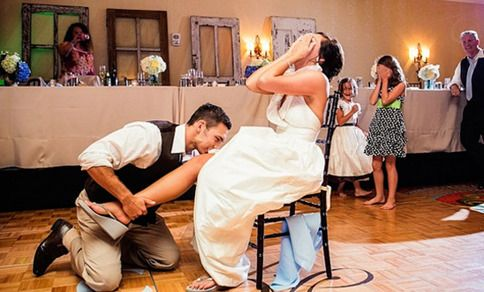 6 Wedding Traditions You Shouldn T Feel Bad About Skipping Woman Getting Married Wedding Garter Toss Wedding Garter Photography Wedding Garter Tradition