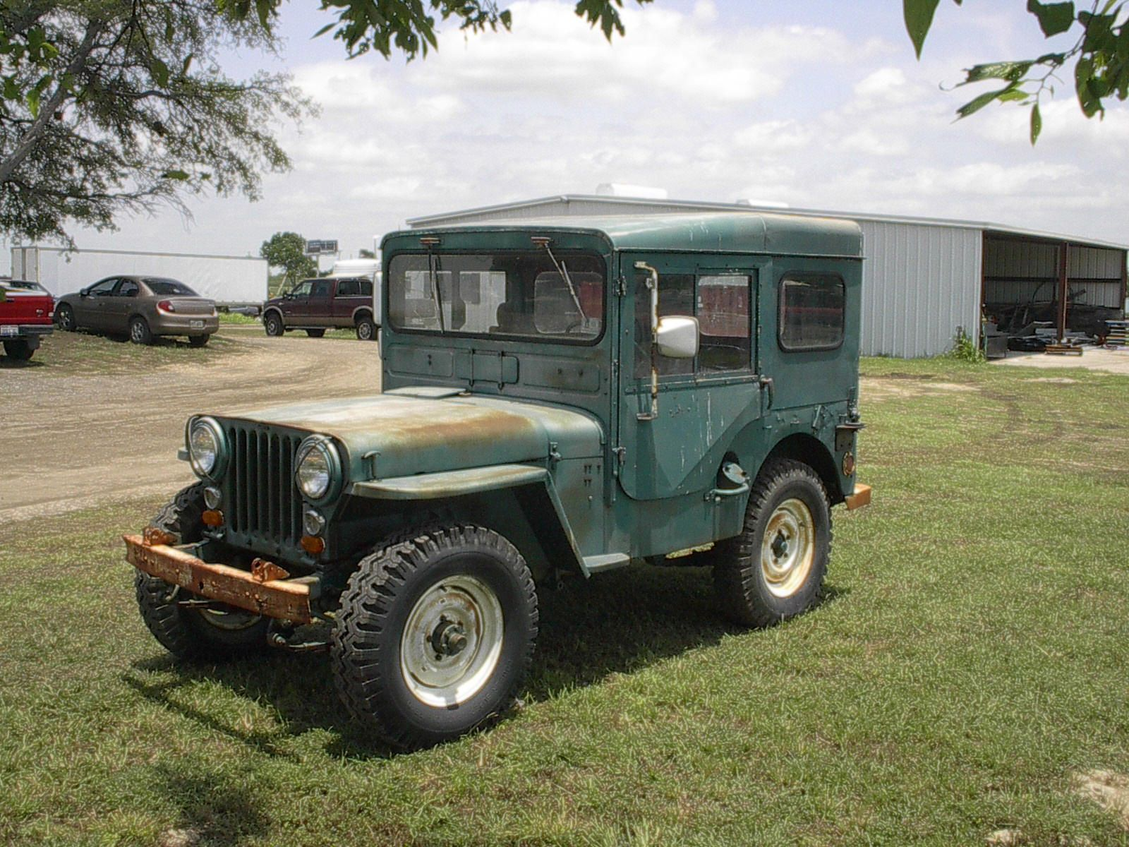 1951 willys jeep w arctic top